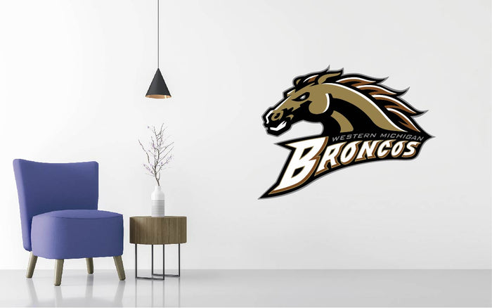 Western Michigan Football NCAA Wall decal Sticker