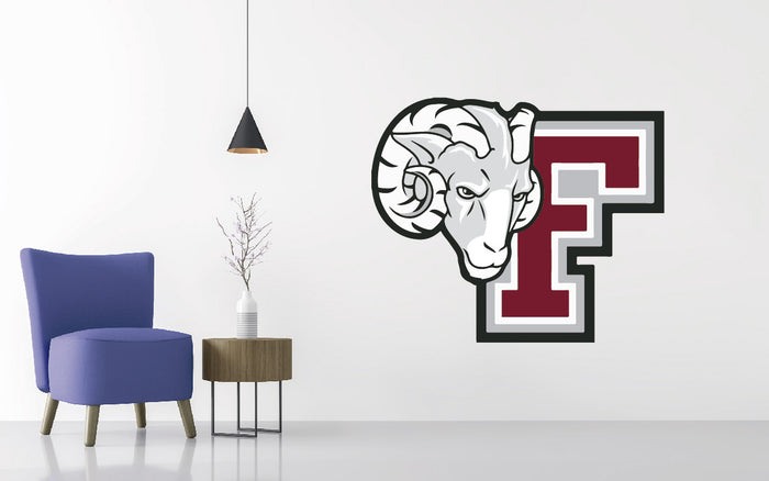 Fordham University Football NCAA Wall decal Sticker