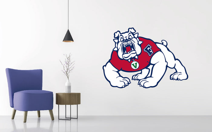 Fresno State Football NCAA Wall decal Sticker