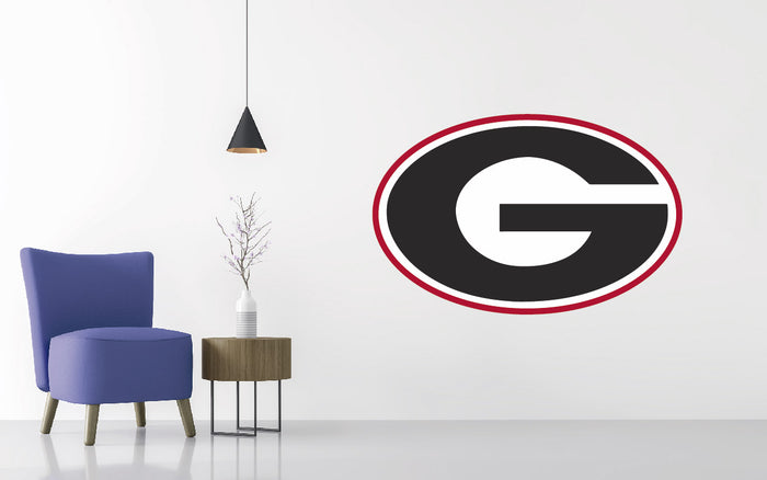 Georgia Bulldogs Football NCAA Wall decal Sticker