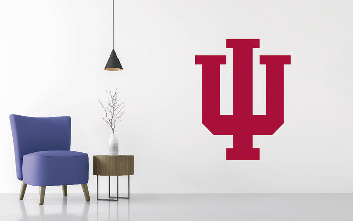 Indiana Hoosiers Football NCAA Wall decal Sticker