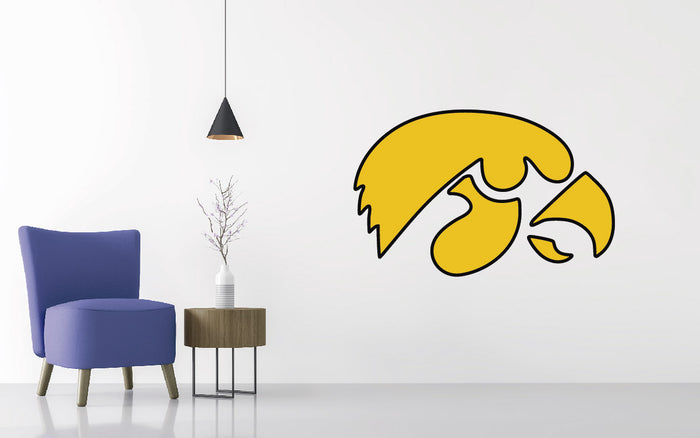 Iowa Football NCAA Wall decal Sticker
