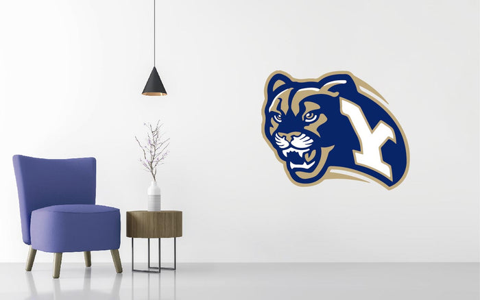 Brigham Young Basketball NCAA Wall decal Sticker