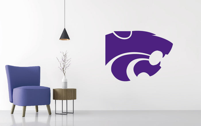 Kansas State Football NCAA Wall decal Sticker