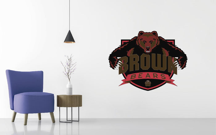 Brown University Basketball NCAA Wall decal Sticker