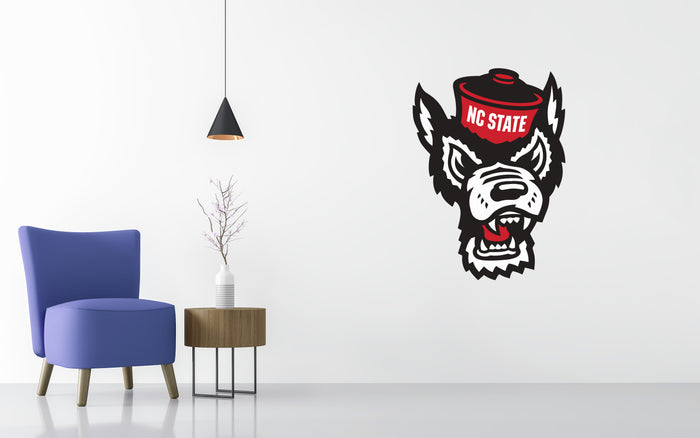 North Carolina State Basketball NCAA Wall decal Sticker