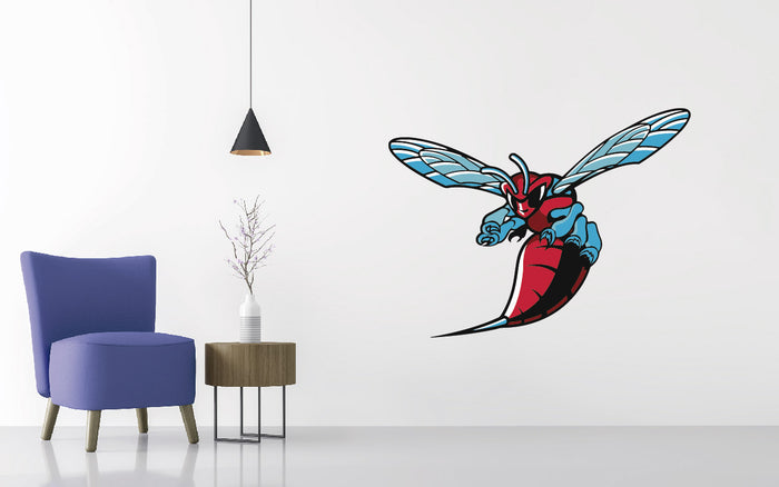 Delaware State Football NCAA Wall decal Sticker