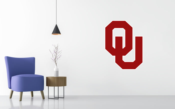 University Oklahoma Basketball NCAA Wall decal Sticker