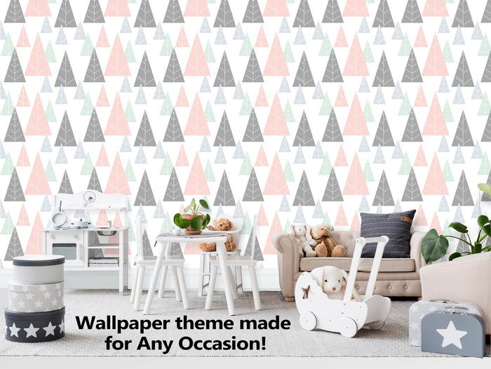Trees in The Jungle Wallpaper  (R460)