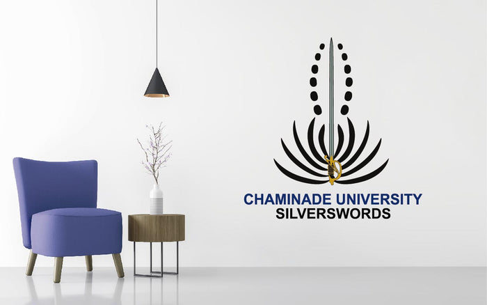 Chaminade Silverswords Basketball NCAA Wall decal Sticker
