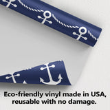 Nautical Rope and Anchor Wallpaper (R586)