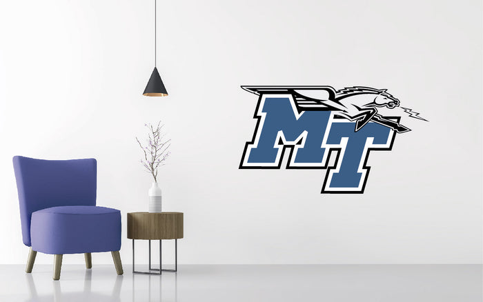 Middle Tennessee St Football NCAA Wall decal Sticker
