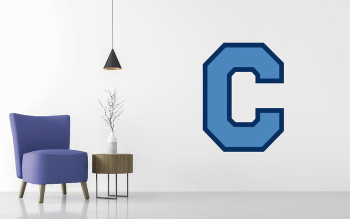 The Citadel Bulldogs Basketball NCAA Wall decal Sticker