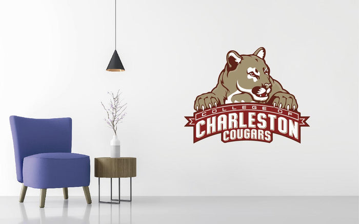 Coll Of Charltn Basketball NCAA Wall decal Sticker