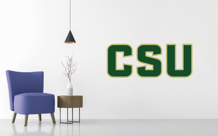 Colorado State Rams Basketball NCAA Wall decal Sticker
