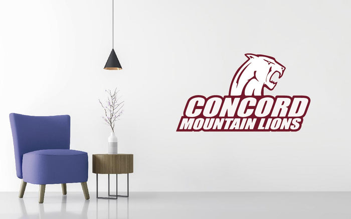 Concord University Basketball NCAA Wall decal Sticker