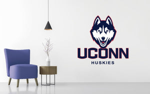 UConn Huskies Basketball NCAA Wall decal Sticker