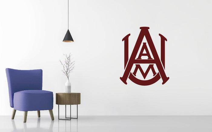 Alabama A&M Bulldogs Basketball NCAA Wall decal Sticker