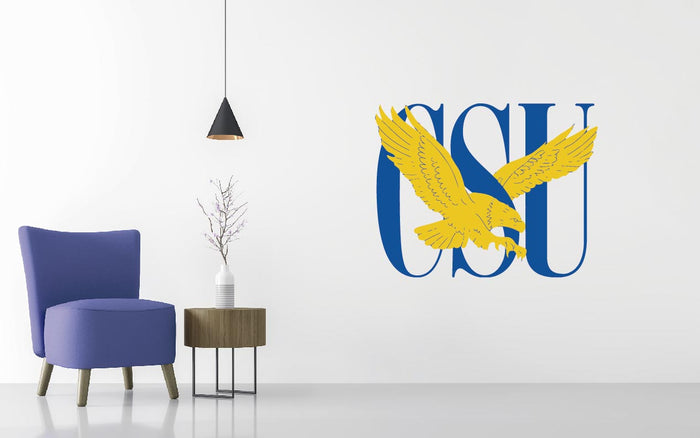 Coppin State University Basketball NCAA Wall decal Sticker