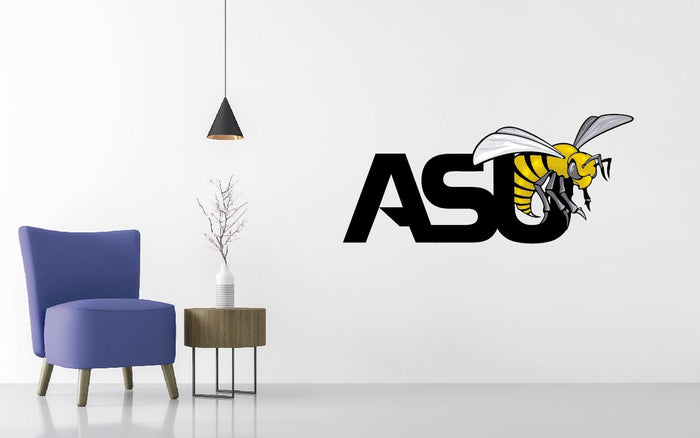 Alabama State Hornets Basketball NCAA Wall decal Sticker
