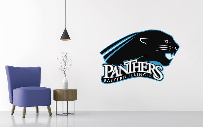Eastern Illinois Panthers Football NCAA Wall decal Sticker