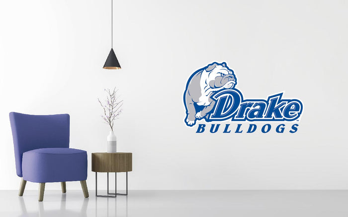 Drake Bulldogs Basketball NCAA Wall decal Sticker