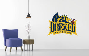 Drexel University Basketball NCAA Wall decal Sticker