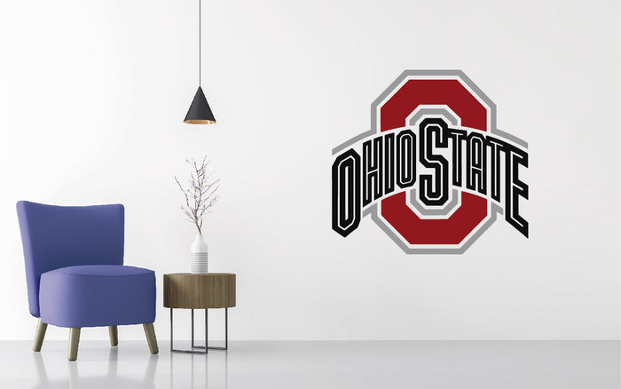 Ohio State Football NCAA Wall decal Sticker