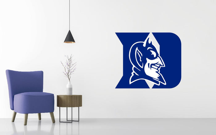 Duke University Basketball NCAA Wall decal Sticker