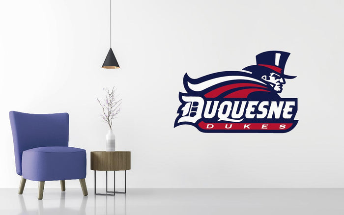 Duquesne Dukes Basketball NCAA Wall decal Sticker