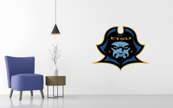 East Ten. State Basketball NCAA Wall decal Sticker