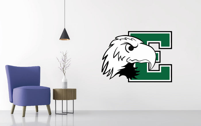Eastern Michigan Football NCAA Wall decal Sticker