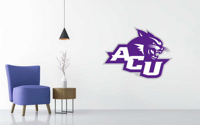 ACU NCAA Logo University  Wall decal Stickers