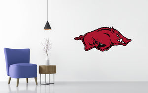 Arkansas Razorbacks Basketball NCAA Wall decal Sticker