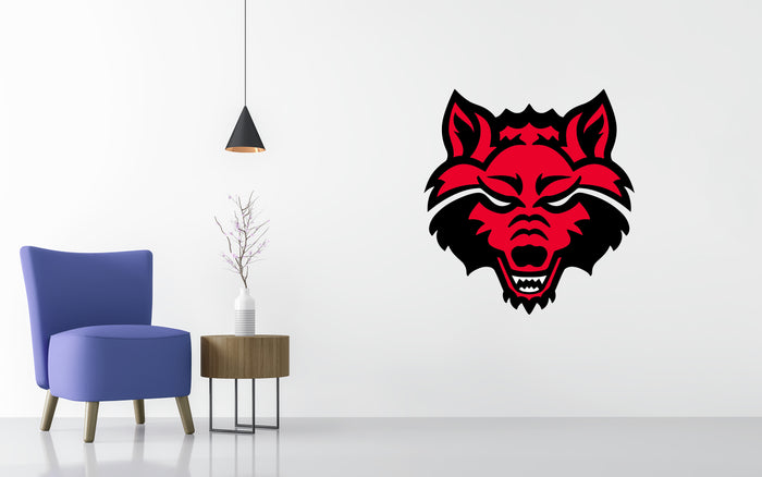 Arkansas State Red Wolves Basketball NCAA Wall decal Sticker