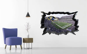 Baltimore Ravens Stadium Wall Decal