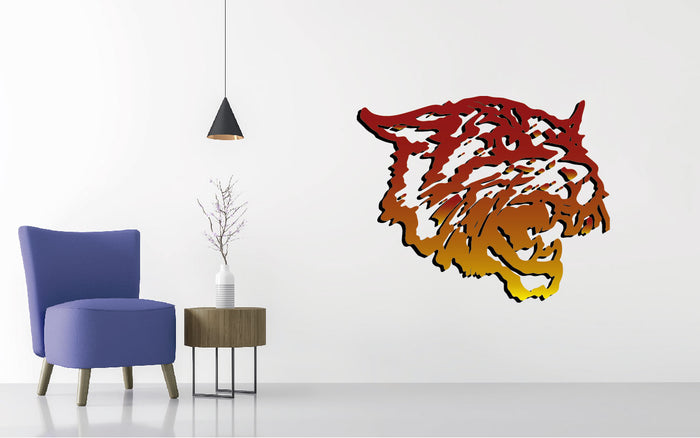 Bethune Cookman Football NCAA Wall decal Sticker
