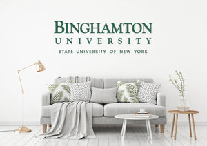 Binghamton University SUNY USA Nueva York Universities Logo  Wall decal Stickers