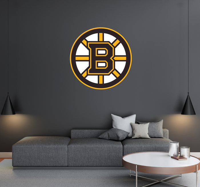 Boston Bruins Logo Wall Decal