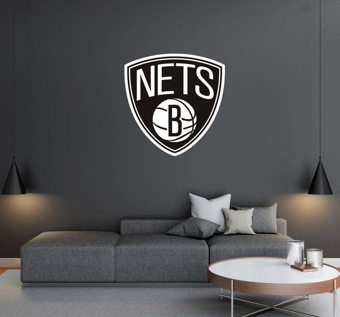 Brooklin Nets Logo Wall Decal