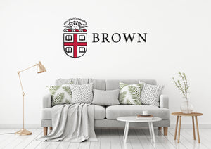 Brown University USA Rhode Island Universities Logo  Wall decal Stickers