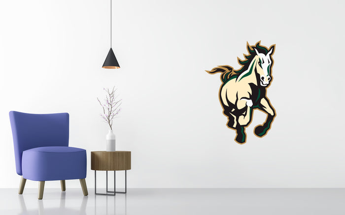 Cal Poly Mustangs Basketball NCAA Wall decal Sticker