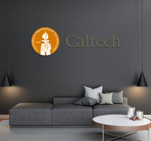California Institute of Technology USA Pasadena Universities Logo  Wall decal Stickers