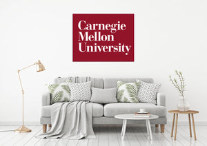Carnegie Mellon University USA Pensilvania Universities Logo  Wall decal Stickers