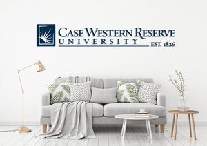 Case Western Reserve University USA Ohio Universities Logo  Wall decal Stickers