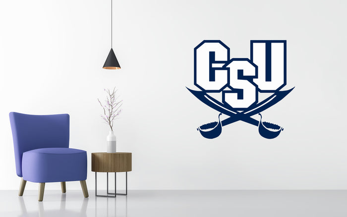 Charleston Southern Buccaneers Basketball NCAA Wall decal Sticker