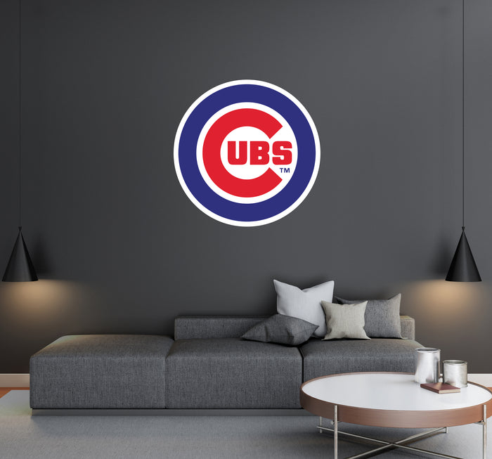 Chicago Cubs Logo Wall Decal