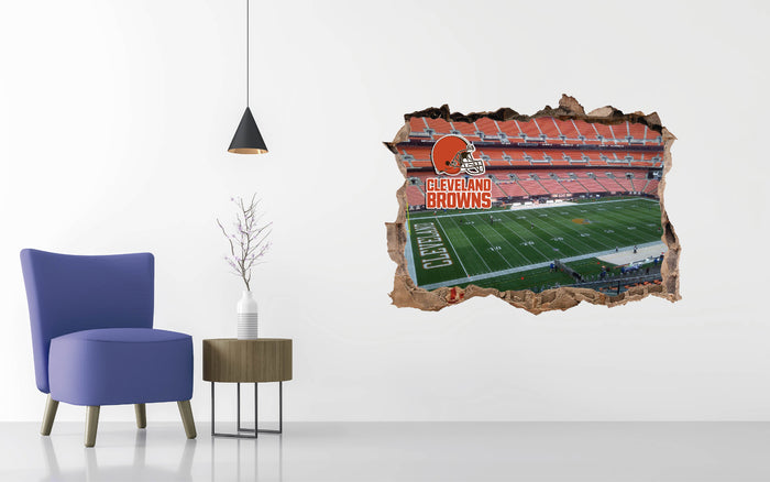 Cleveland Browns Stadium Wall Decal