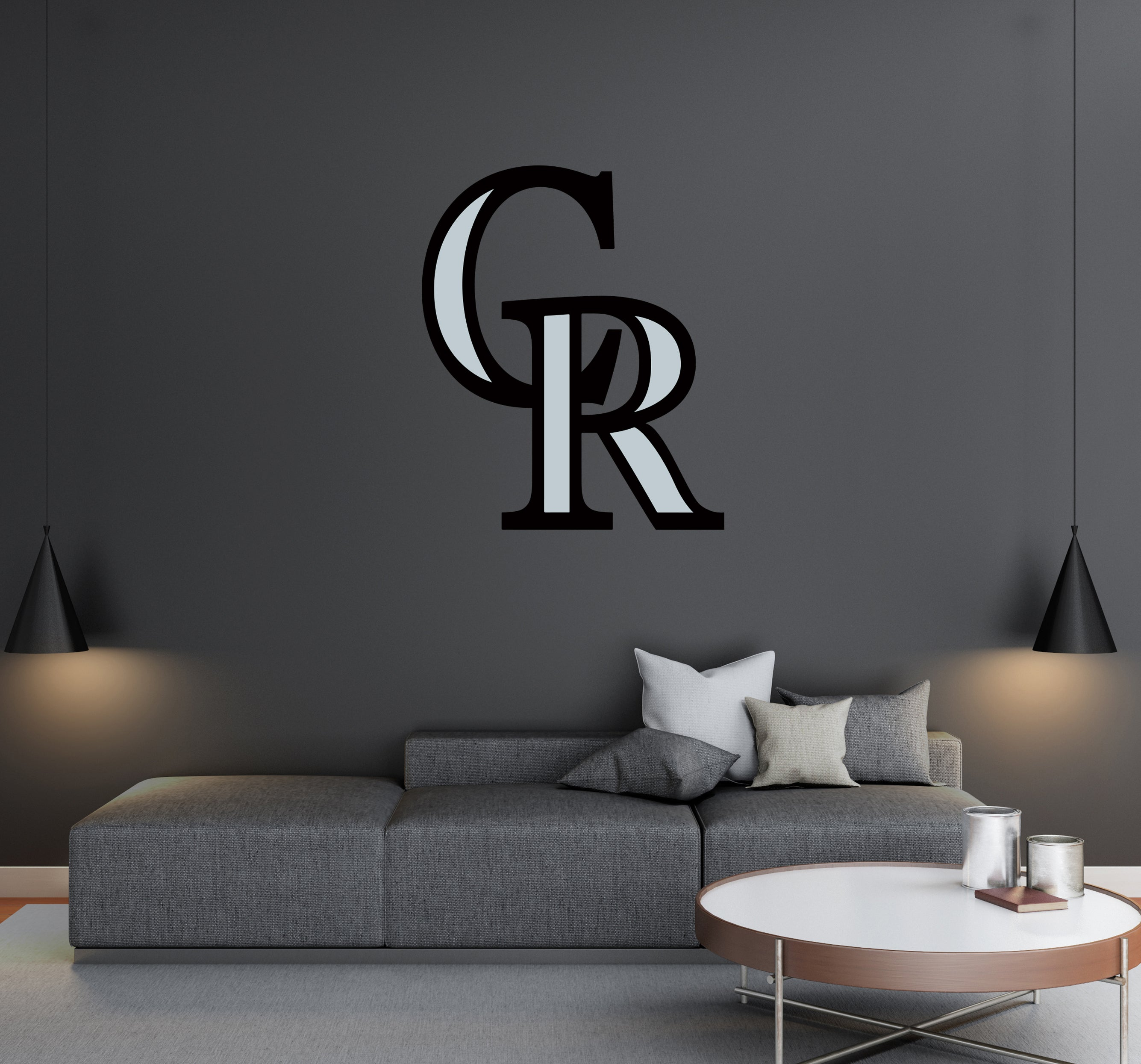Colorado Rockies - MLB Baseball Team Logo - Wall Decal Removable & Reusable For Home Bedroom