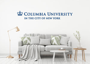 Columbia University USA Alto Manhattan Universities Logo  Wall decal Stickers
